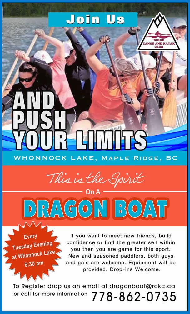 RCKC Dragon Boat Poster